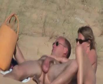 Pärchen am strand nackte Am Meisten